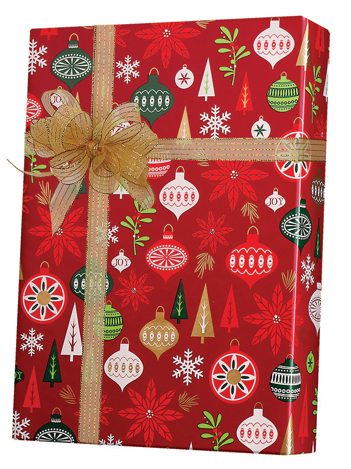 Holiday Happening Wrapping Paper