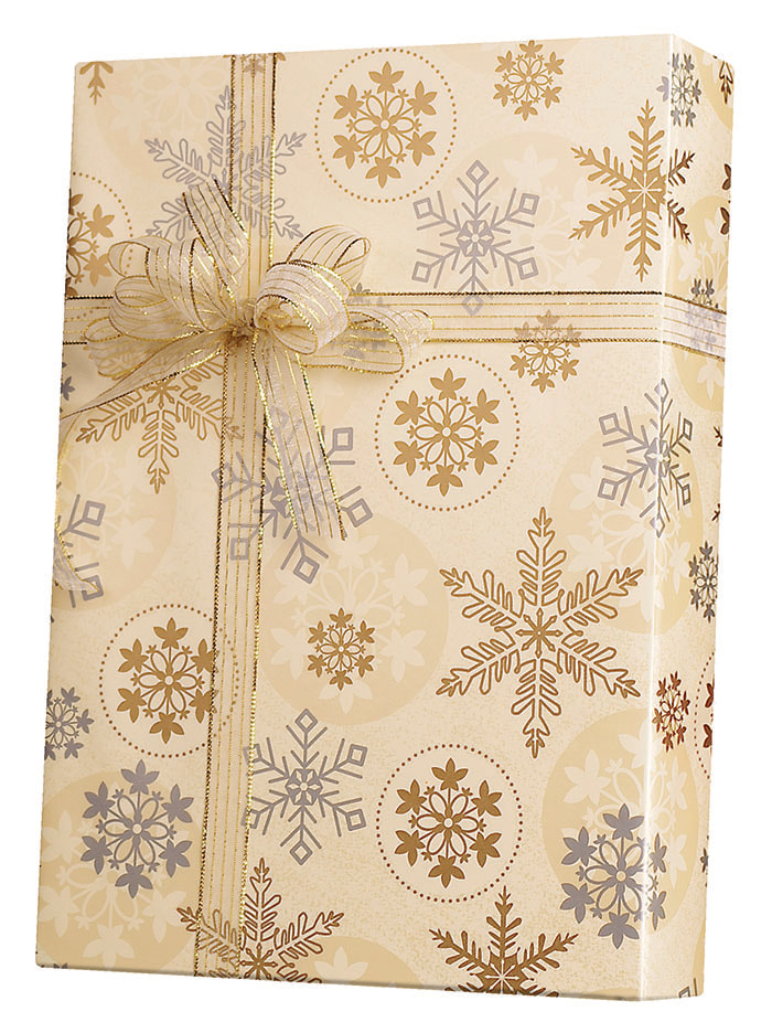 First Snowfall Wrapping Paper
