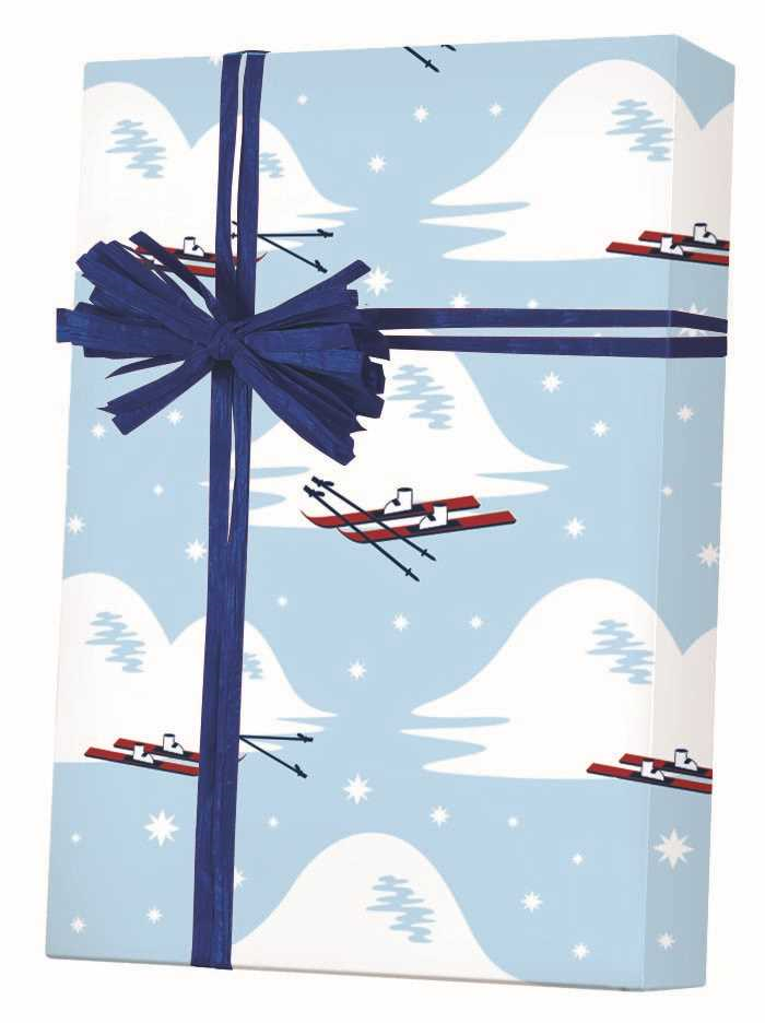 Slopes & Skis Gift Wrapping Paper