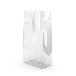 3.5x2x7.5' BOPP 1.2 mil Clear 100 Cello Treat Bags